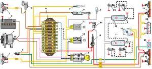 Линейный стабилизатор напряжения принципиальная схема